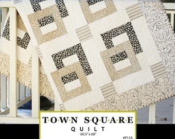Town Square Quilt - Download Pattern
