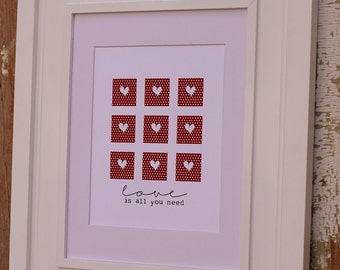 All You Need Is Love Print