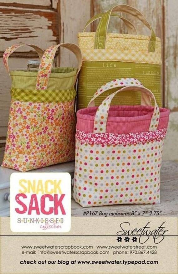 Snack Sack Pattern - Download Pattern