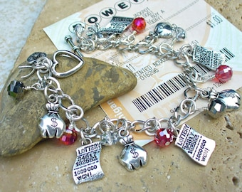 Lottery Charm Bracelet
