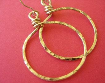 Gold Bliss Hoop Earrings LARGE