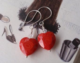 Hearts A Fire Earrings
