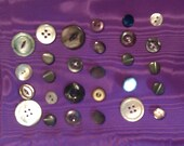 Mixed Lot Mother of Pearl/Shell Buttons