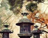 Smokey lanterns Japan Tokyo Fine Art photographic print, 8x12