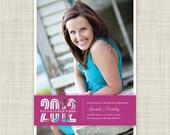 Graduation Party Invitations - Printable Graduation Invites - Photo Card