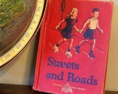 RESV Linda SALE 1940s childrens reader - streets and roads