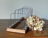 Old metal and wood rack - organize and display to your hearts content
