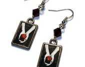 Twilight Book Cover Earrings