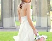 Silk Wedding Dress - The Princess Bride