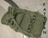 pdf Knitting Pattern - Spa Soap Saver Sack