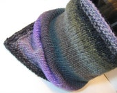 Knit Neck Warmer Cowl Cuff- Mosaic Bandana
