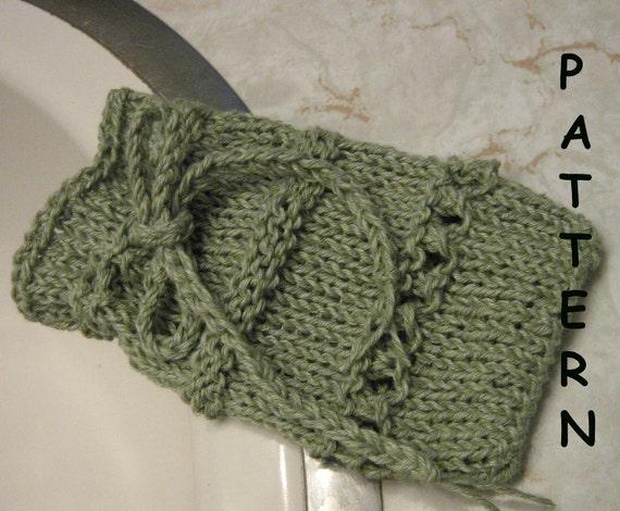 Soap Sack Knitting Pattern Soap Bag Knitting Pattern By