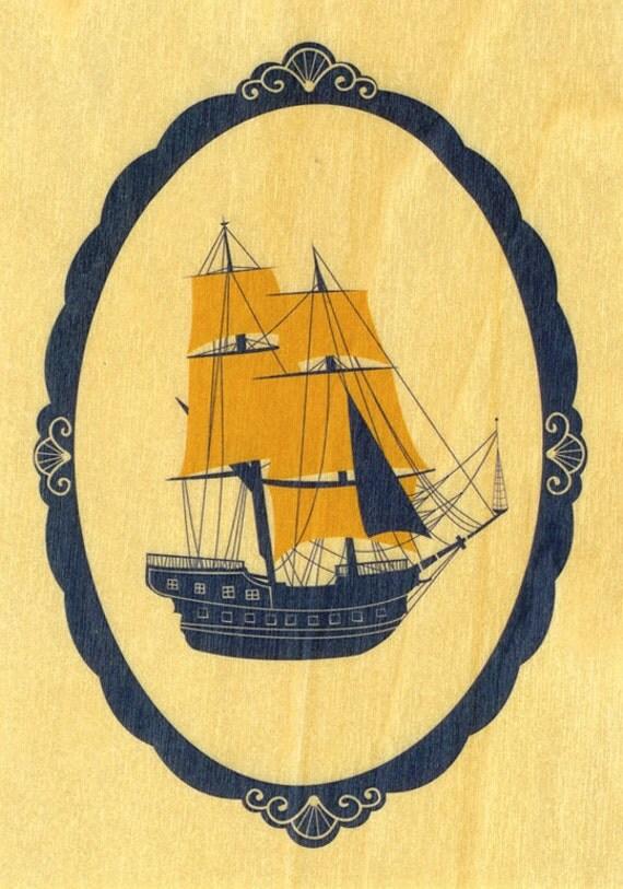 FOR AMANDA* wooden ship