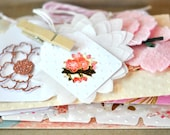 15 Item Deluxe Gift Wrap Kit Sorbet Pink and Gold