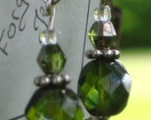 Gabriella Earrings - Green