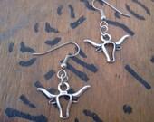 Longhorn Bull Earrings