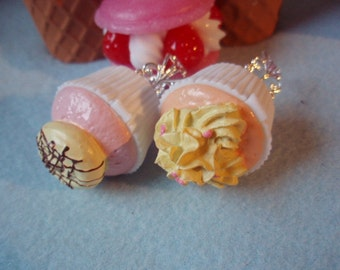 Cupcake Miniature Container Filigree Ring (5 different styles)