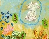 Art print 'Alice Is Looking For Her Dottie dress'