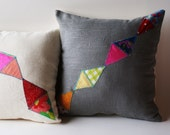 Geometric Love, Pillow Cover