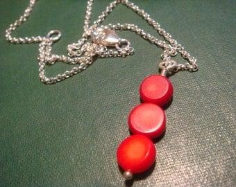Triple Sea Bamboo Necklace