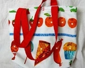Very Hungry Caterpillar child's tote or book bag