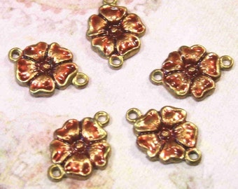 Rosy Rose Links - 5 pcs