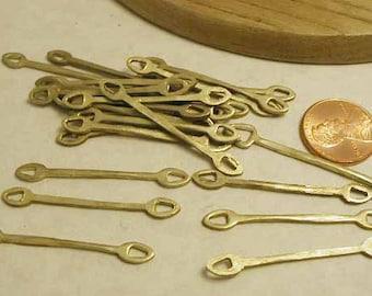Brass Connectors Dangles - 12 pcs - BC1041