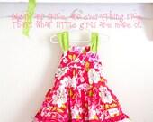 Rose Tea Garden Girls Boutique Dress -