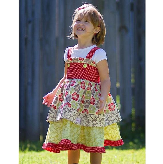 FALL - Meadowsweet Toddler Dress Size 12mos-5