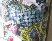 HELP ME Get Rid of These-SALE- 1 Lb. Bag of Small/Medium Scraps including lots of Minky and Designer Fabrics