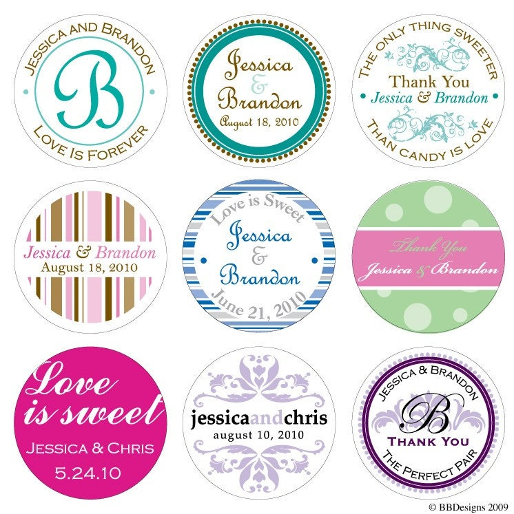 like this item personalized wedding stickers welcome labels