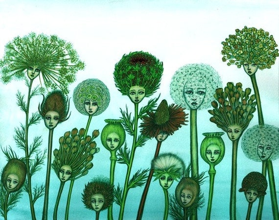 Seed Heads - 8x10 archival giclee print