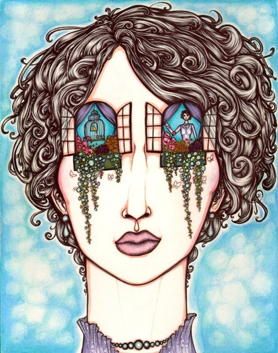 The Windows of the Soul - 8x10 archival giclee print