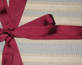 Reduced for holiday Reusable Gift wrap by Joell Jacob - Blue Stripes