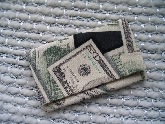 Mr. Moneybags American Money Business Card Holder / Store Card Holder / Gift Card Holder / Credit Card Case