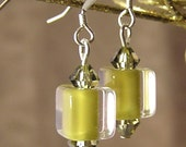 David Christensen furnace glass earrings
