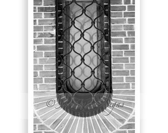 Letter U - Alphabet Photography Individual 4x6 Black and White Photo for Name Frames (U6)