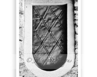 Letter U - Alphabet Photography Individual 4x6 Black and White Photo for Name Frames (U1)