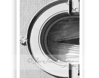 Letter C - Alphabet Photography Individual 4x6 Black and White Photo for Name Frames (C12)