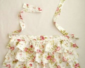 FLORAL Ruffle Apron for WOMEN