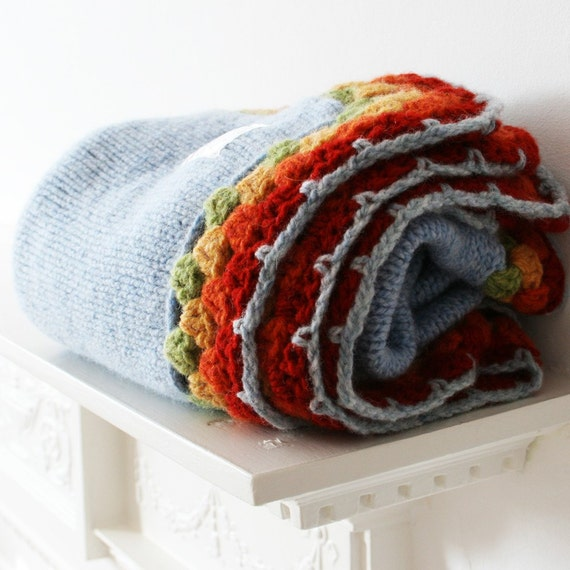 Boys Knitted wool blankets
