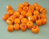 Huge Orange Beads