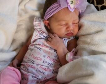 Pink Ruffle Tutu Leg Warmers - Newborn Baby Pink Ruffled Tutu Bunny Legs  Leg Warmers - Perfect for new borns to 12 months