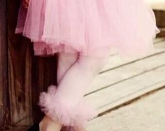 Ruffle Tutu Tights - Girls Tutu Ruffle Tights - Perfect for Photo Prop, Birthday, Wedding, Girls Tutu, all sizes