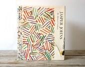 Jasper Johns by Michael Crichton.  Hardcover Art Book