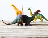 Brontosaurus. Vintage Animal Magnet Photo Holder - A GG Original