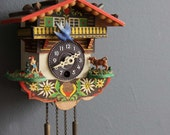 Mini German Cuckoo Clock