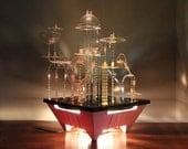 r e s e r v e d 1960s Astrolite Game.  Build Futuristic Cities with Light