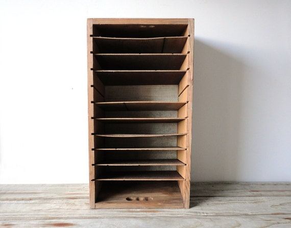 Large Wooden Sorting Box