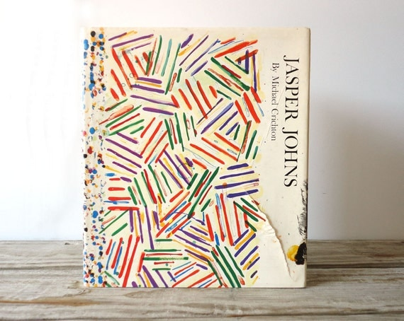 Jasper Johns by Michael Crichton.  Hardcover Art Book
